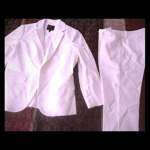 White Limited suit.